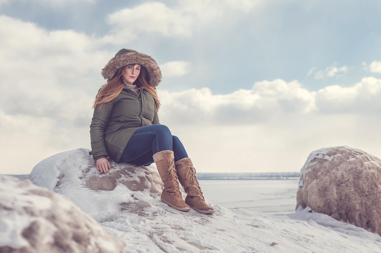 Hamilton Toronto Fashion Photographer -  Winter Fur Coat by Marek Michalek.jpg
