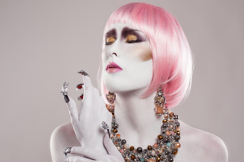 Hamilton Toronto Fashion Photographer - Pink Hair Big Nails by Marek Michalek.jpg
