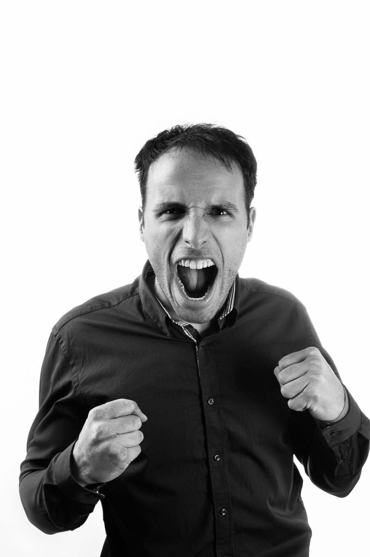 Hamilton Toronto Portrait - Photographer Screaming Man - Marek Michalek.jpg