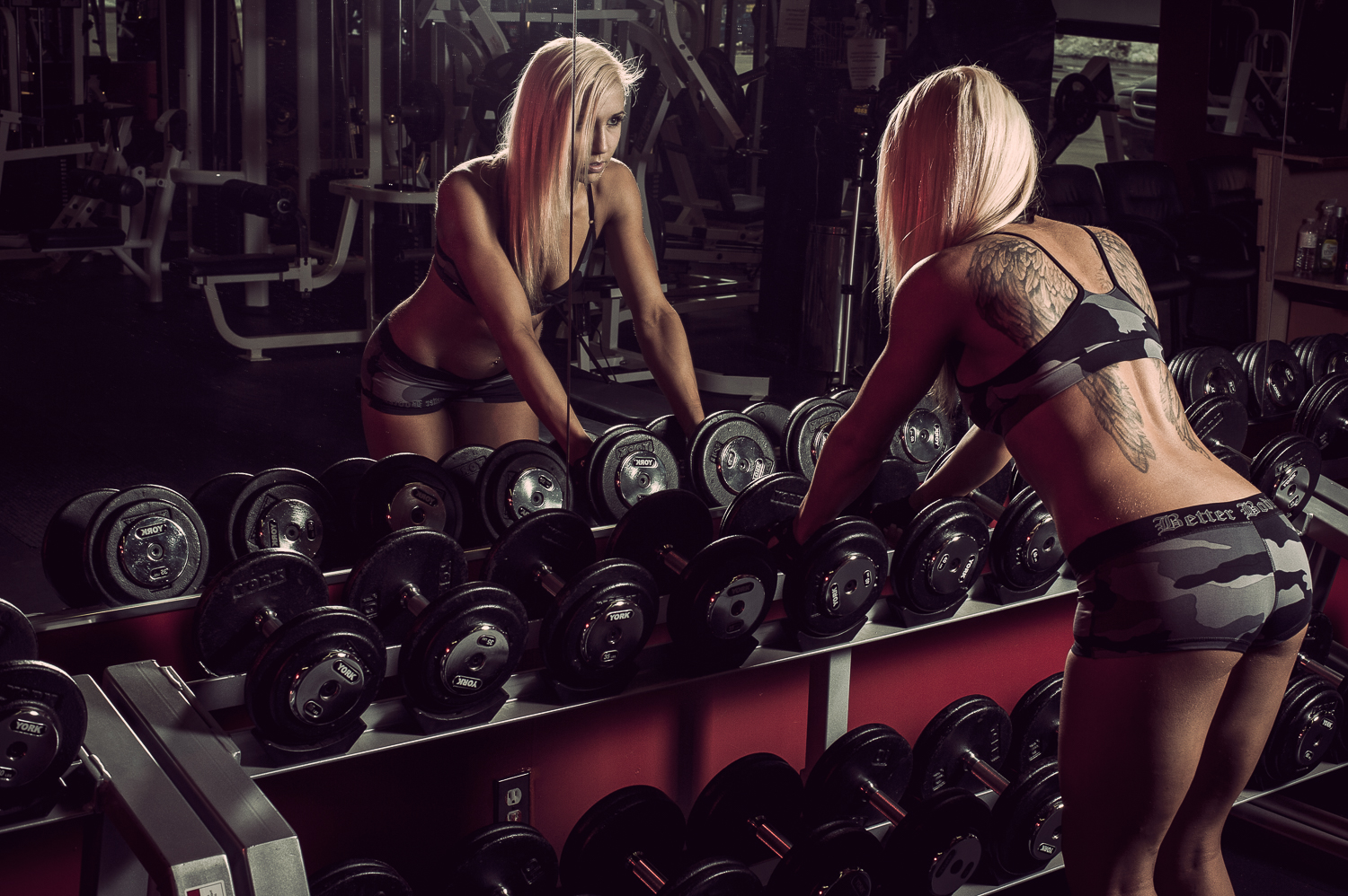 Hamilton Toronto Fitness Photographer - Female Working Out by Marek Michalek.jpg