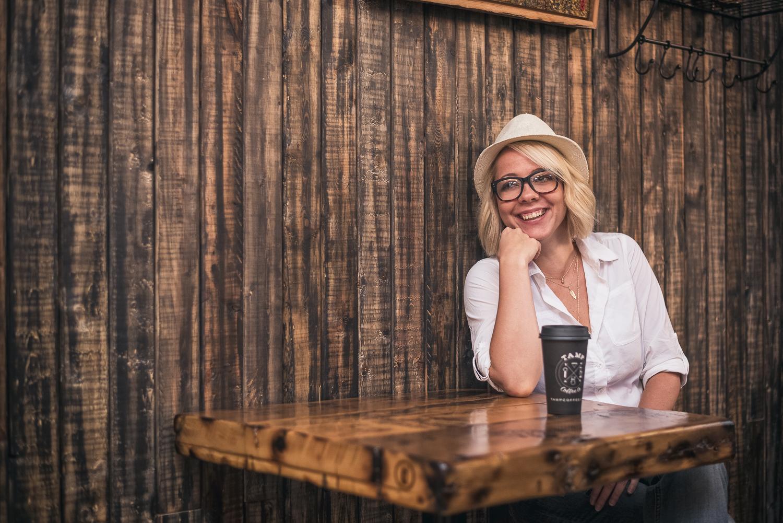 Hamilton Toronto Ontario Photographer - Hipster Portrait at Coffee Shop - Photo by Marek Michalek.jpg