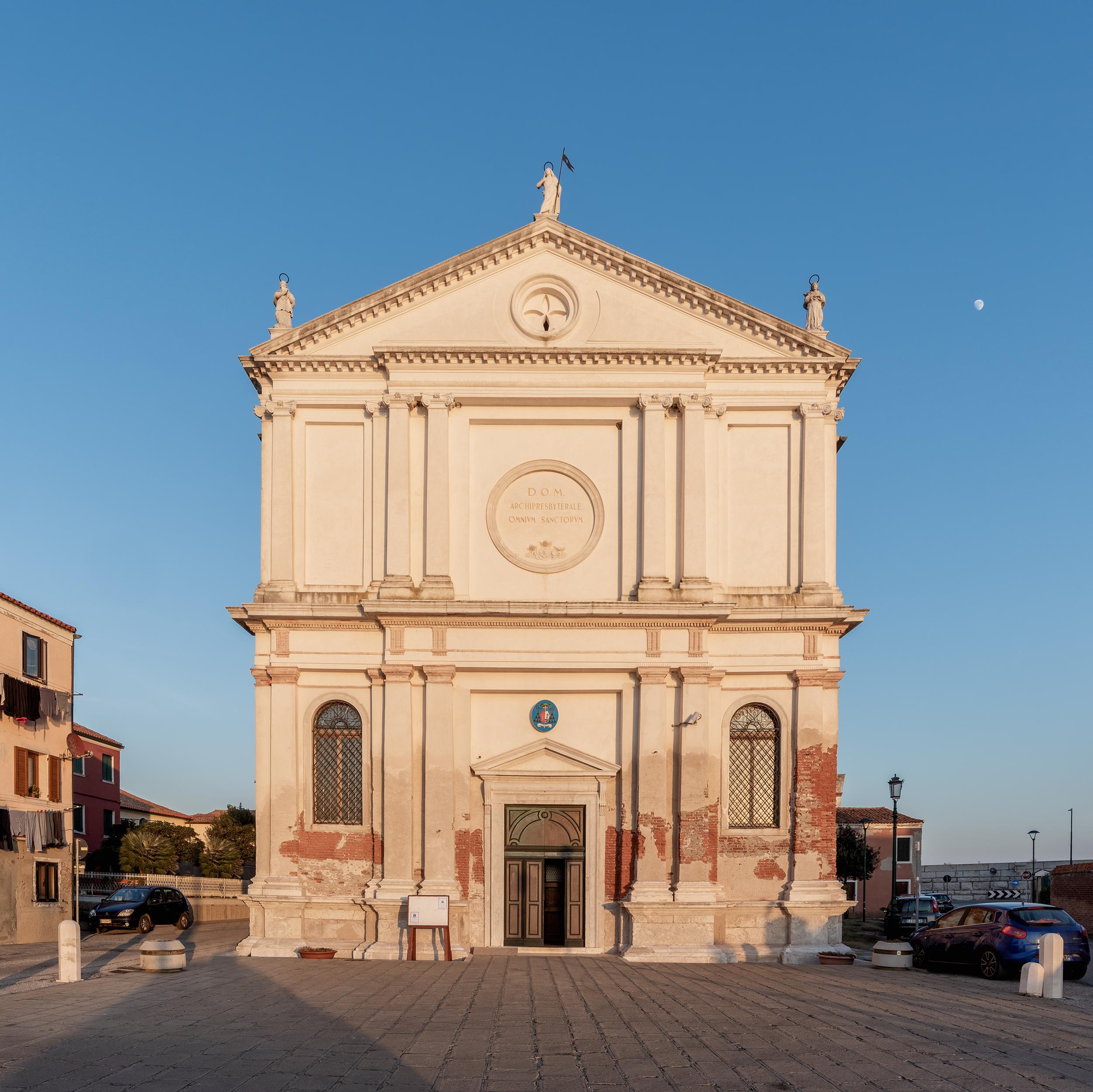 Chiesa di Ognissanti, Pellestrina.