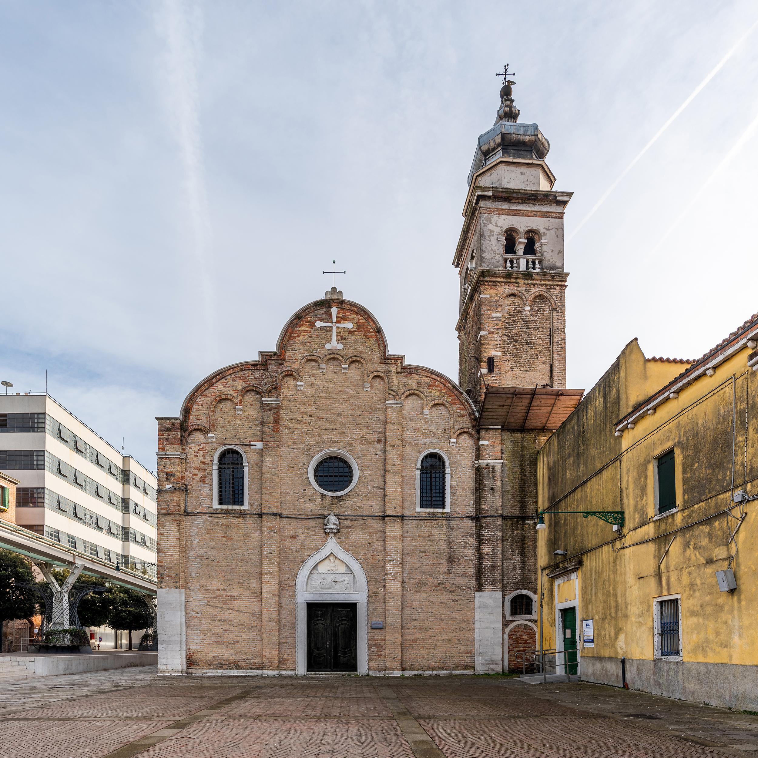 Sant'Andrea della Zirada, Sestiere di Santa Croce.