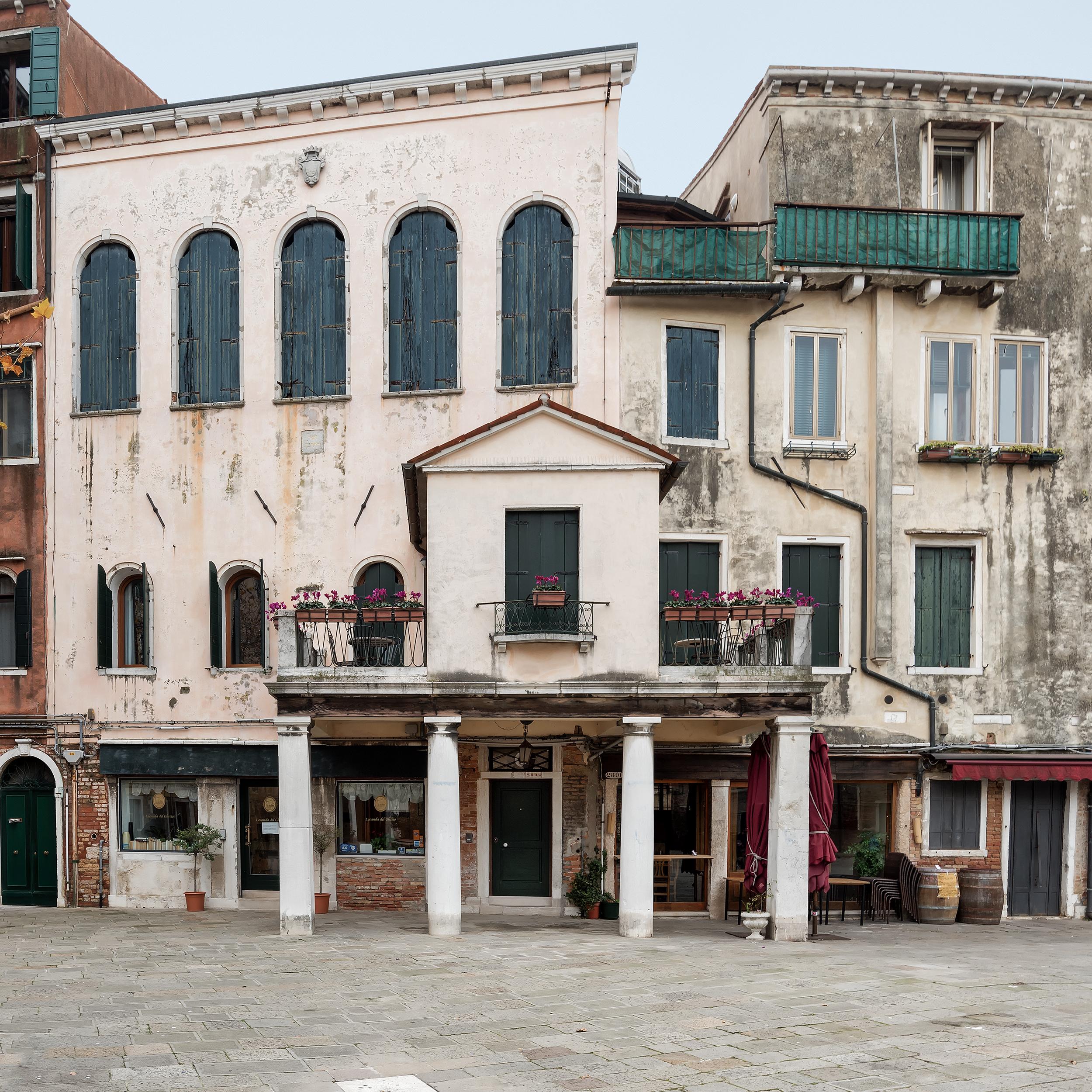 Sinagoga Italiana, Sestiere di Cannaregio.
