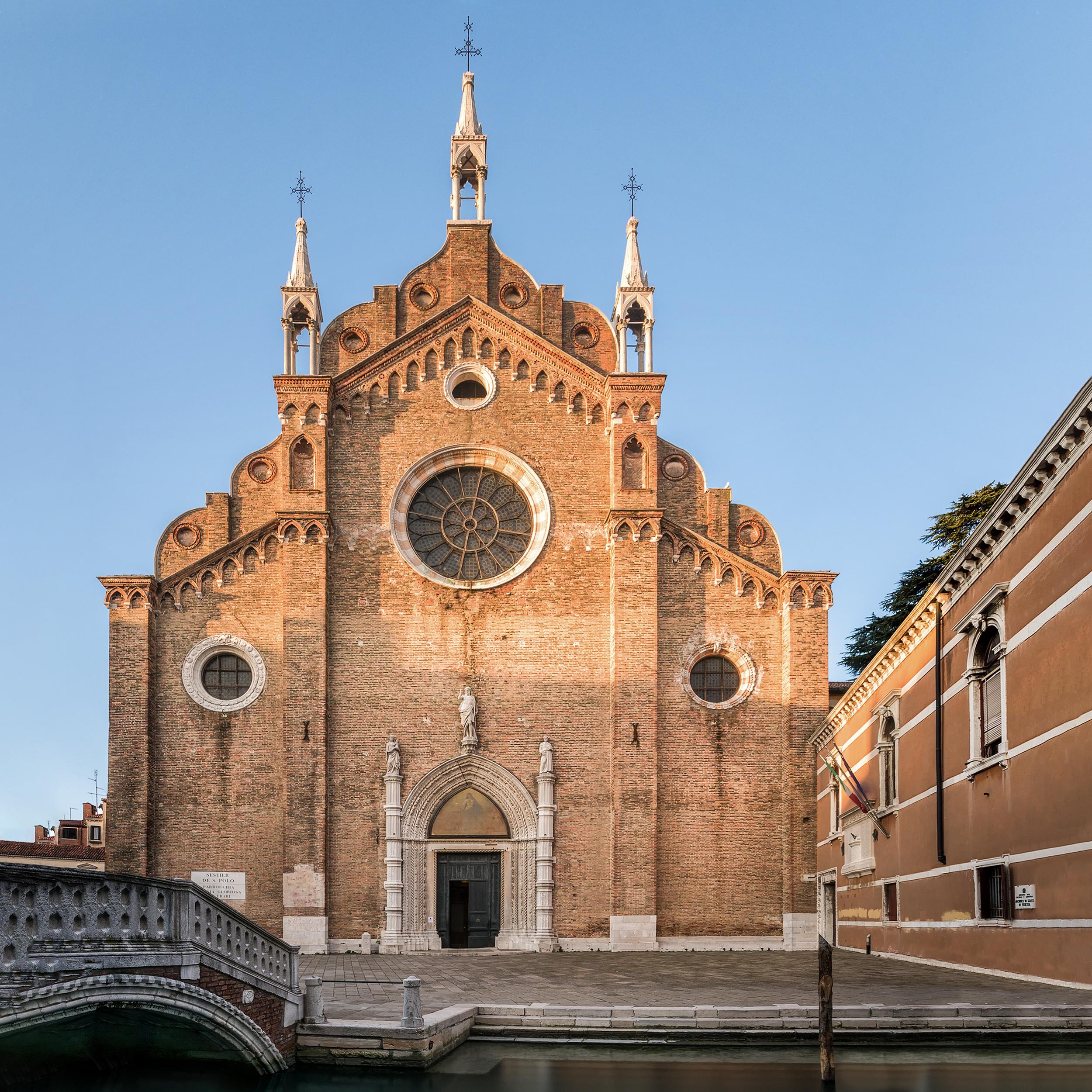 Santa Maria Gloriosa dei Frari, Sestiere di San Polo.