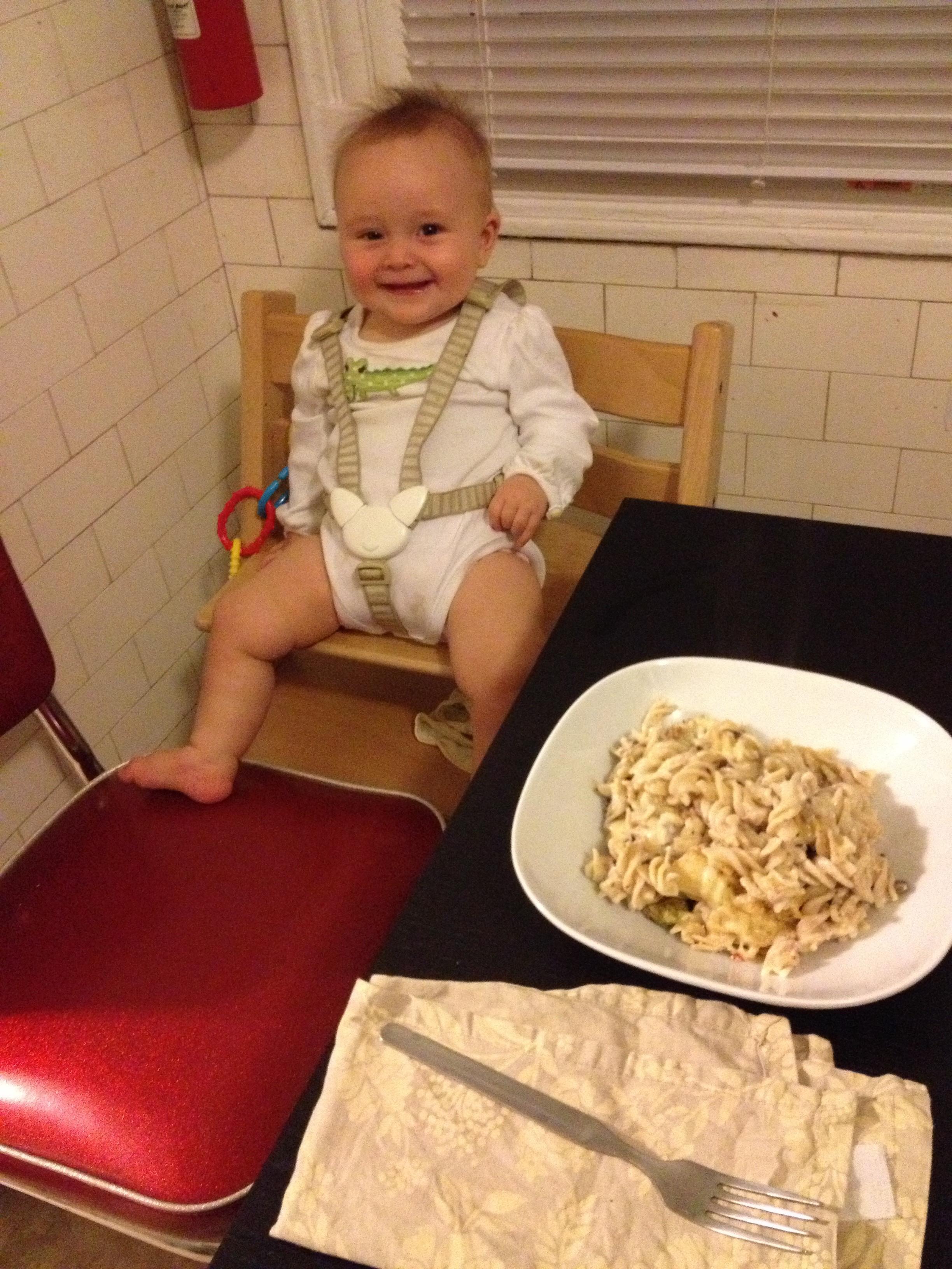 Tuna Casserole with Baby.jpg