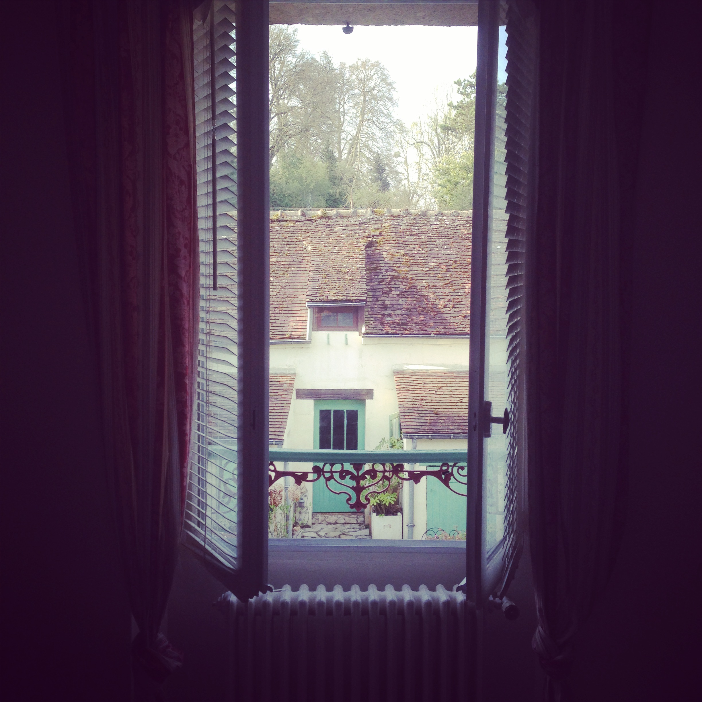 The view from my bedroom