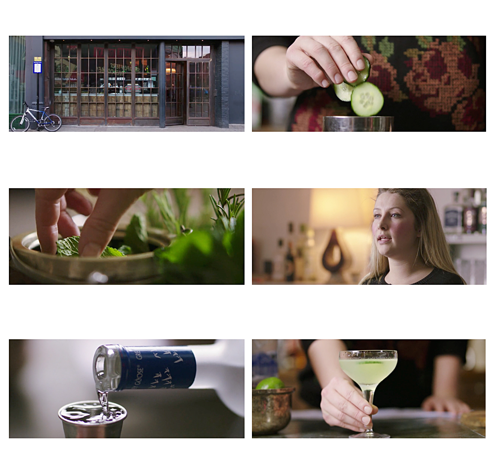 Soho House Cocktail Video Directed by Scott Grummett. How to make a grey goose eastern standard cucumber cocktail for staff training instructions instructional director