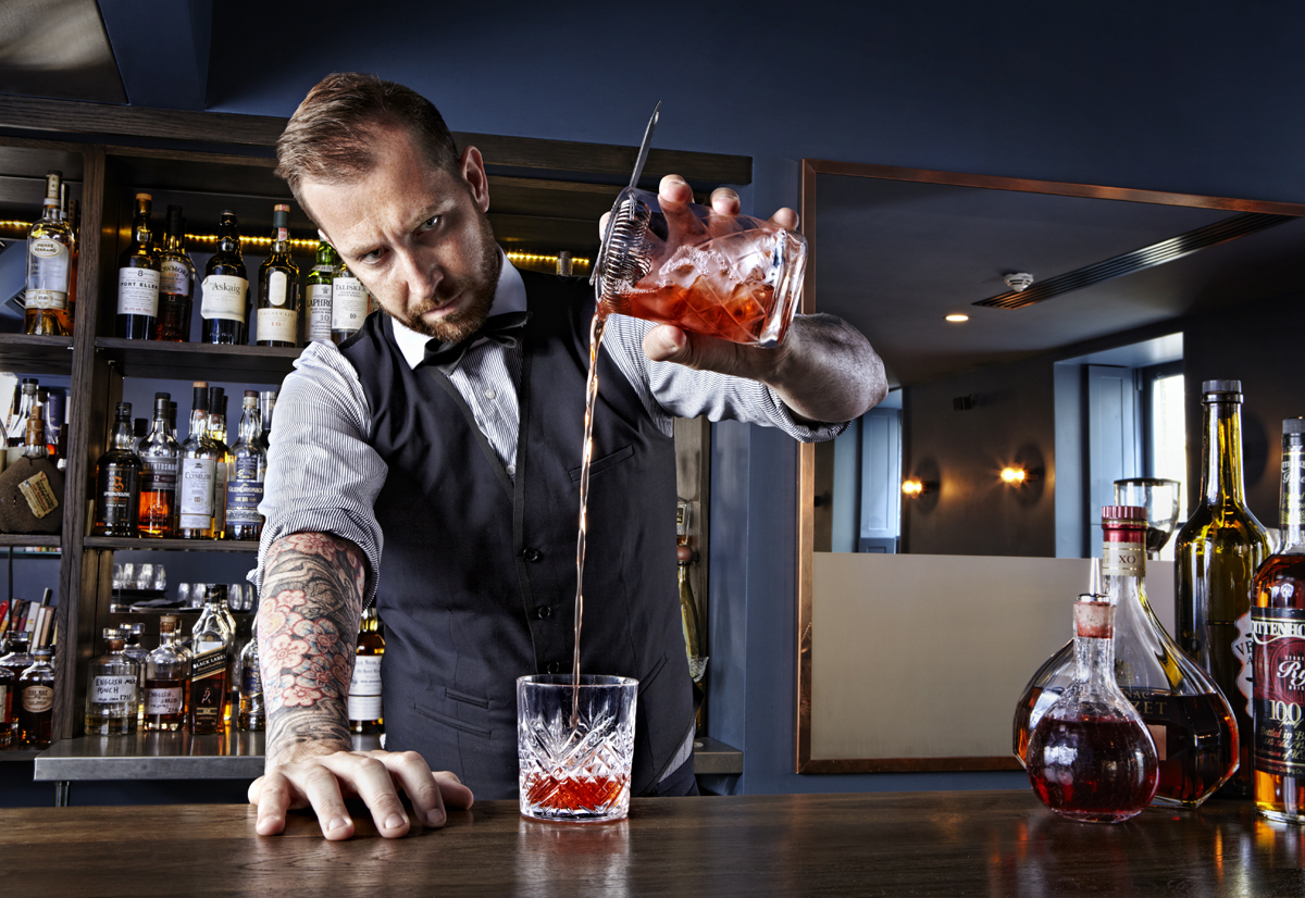 Cocktails: Talented Mr Fox at One Leicester Street.