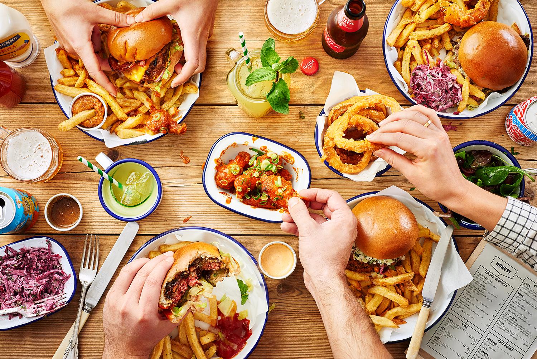 Honest Burgers: Sharing.