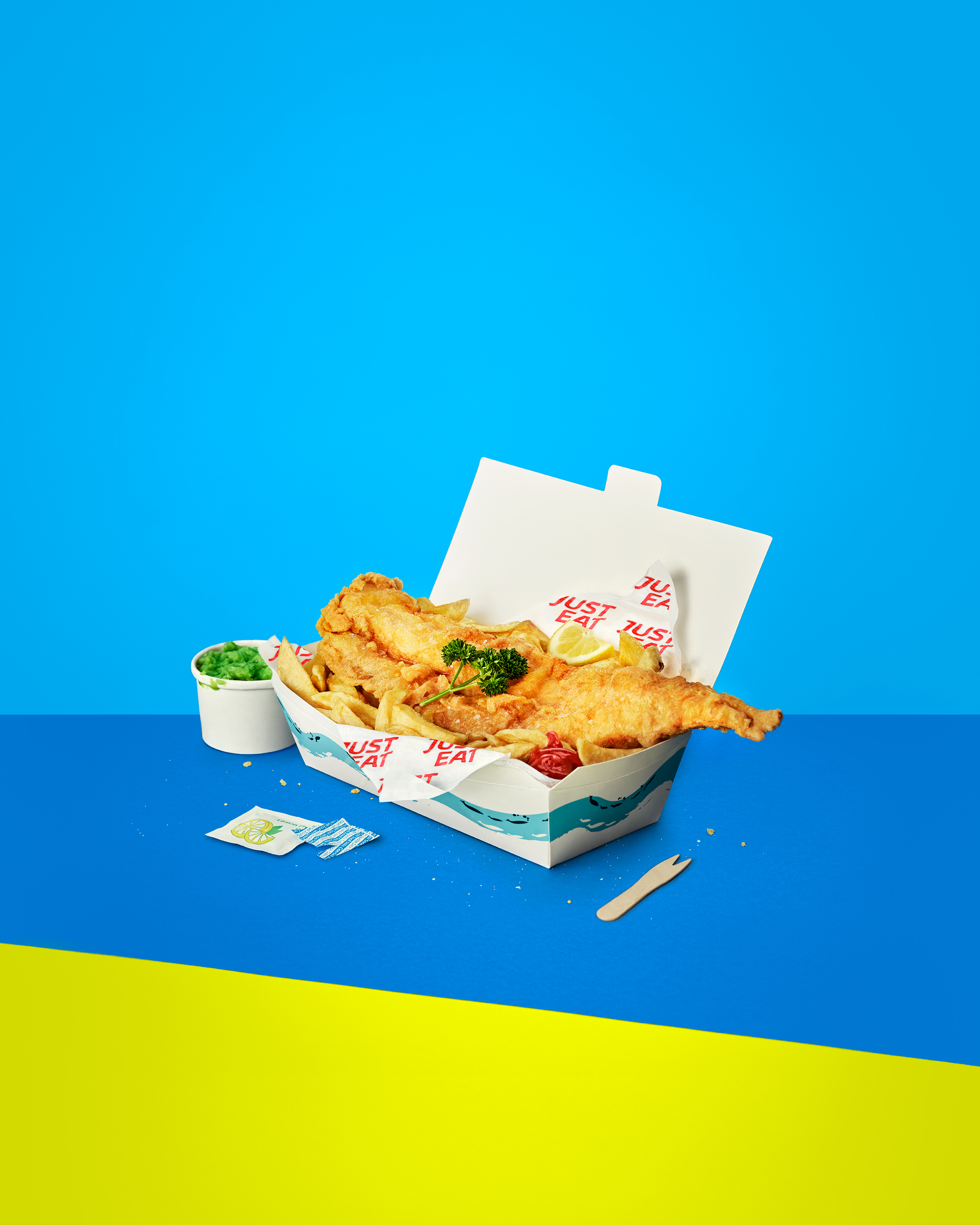 Just Eat: Brand Guidelines, Fish & Chips.