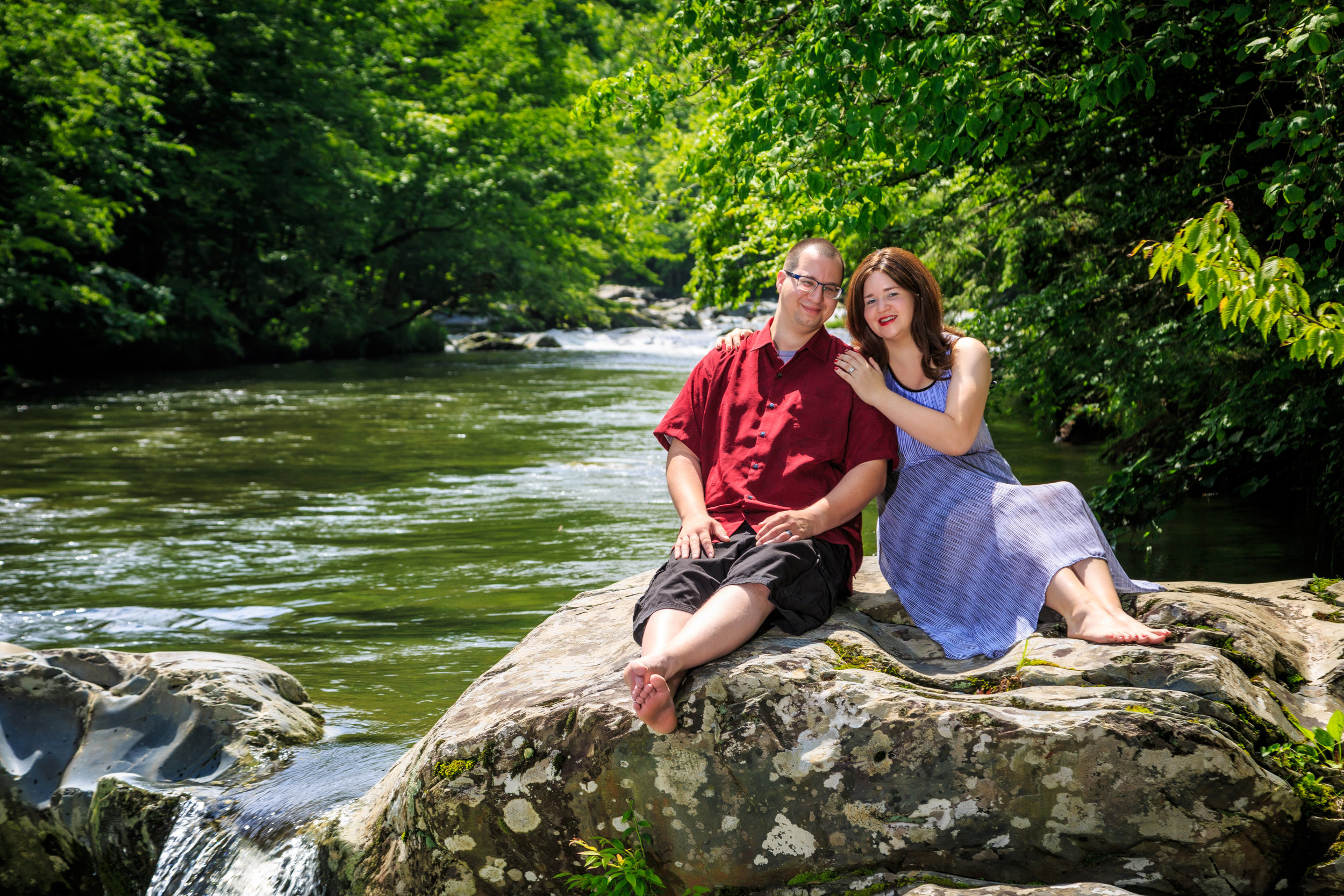 """I couldn't be happier…"" - My wife had found this photographer on a website for the Gatlinburg area for our 10-year anniversary and we really didn't know what to expect. However once we met the photographers we were at ease when we went to the location spot in the mountain creekside. It took a lot of hard work and patience and my wife and I couldn't be happier with the rough previews of our photos. I've read most the reviews on Google but you really do get what you pay for professional photography at its best. From different camera lenses,angles, and waiting to get the perfect shot. When we did a preview of our photos the next day you would swear they were fake scenery background and yet they are not.I would recommend them to any visitor or someone who is looking to get photos done.- Nathan Donaldson"