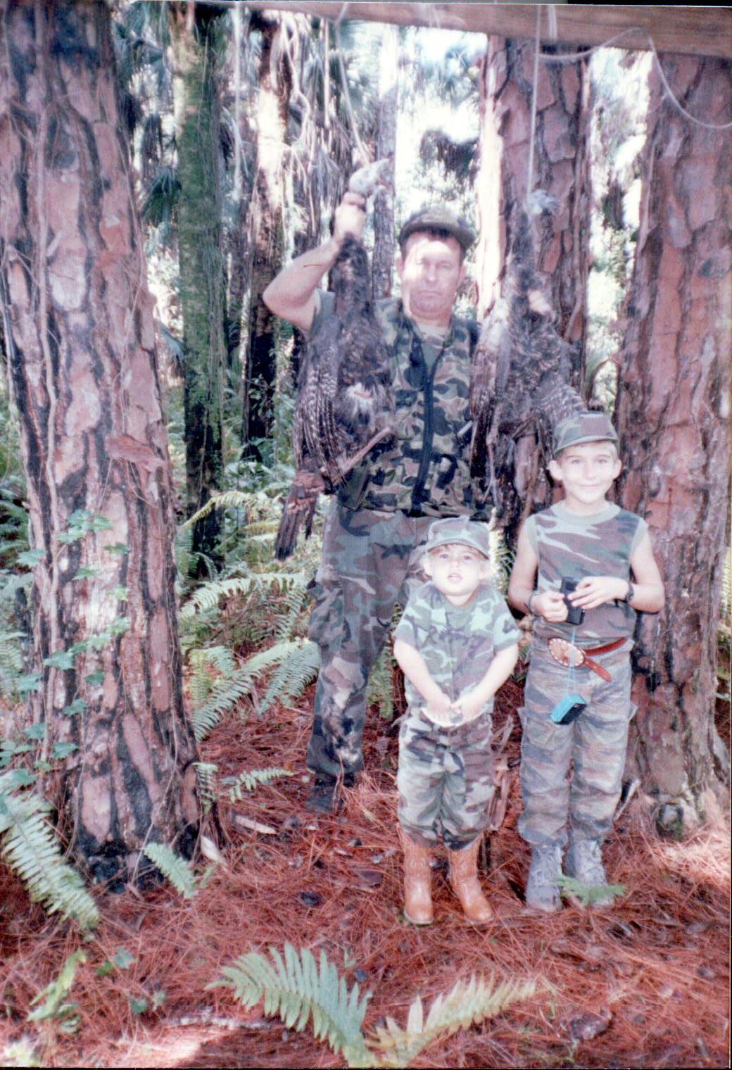 Hunting Osceola Turkeys in South Florida with Dad & my bro.