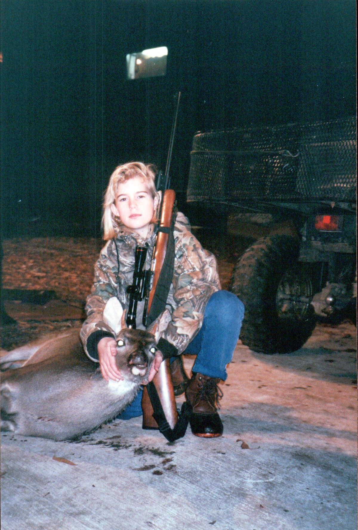 Don't mess with me, I'm 11 here and serious about deer hunting.