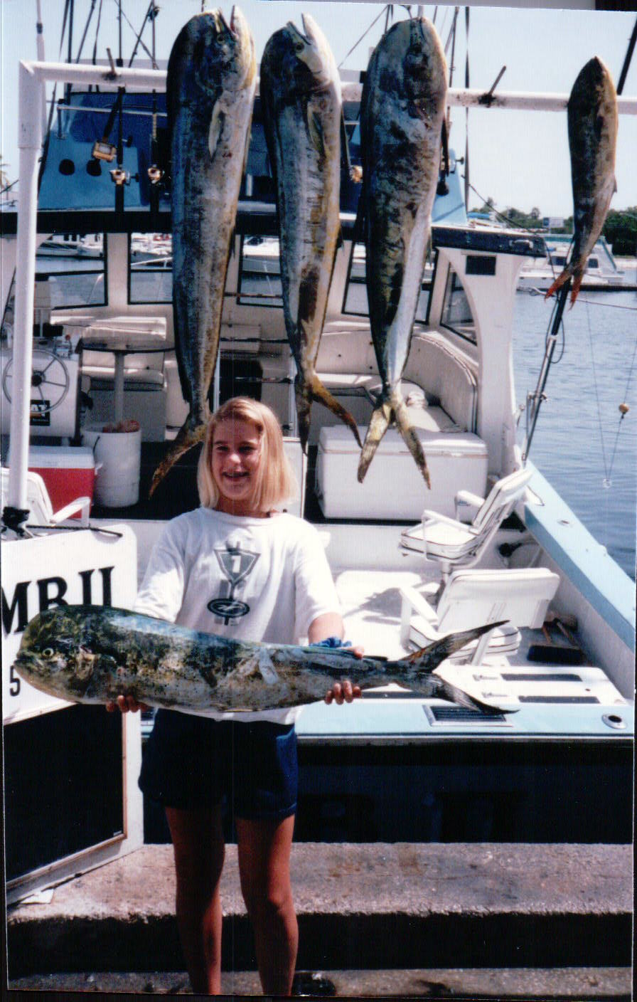 First charter I ever went on with my Aunt & Uncle down in Key West in between lobstering.