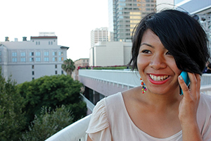 Photograph of Janice Sapigao by Kirstie Mah