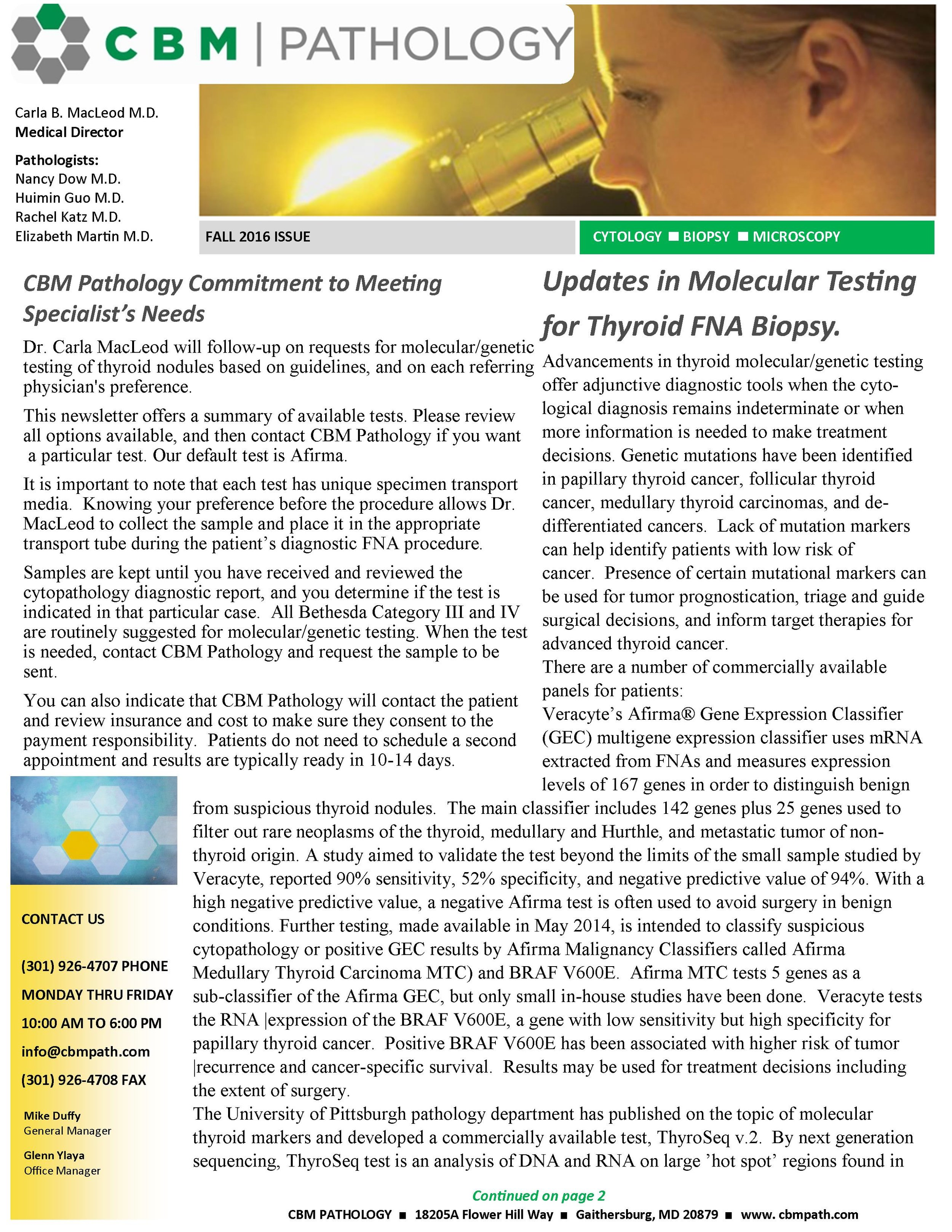 FNA Newsletter- updates in Molecular Thyroid Testing, 08.16.jpg