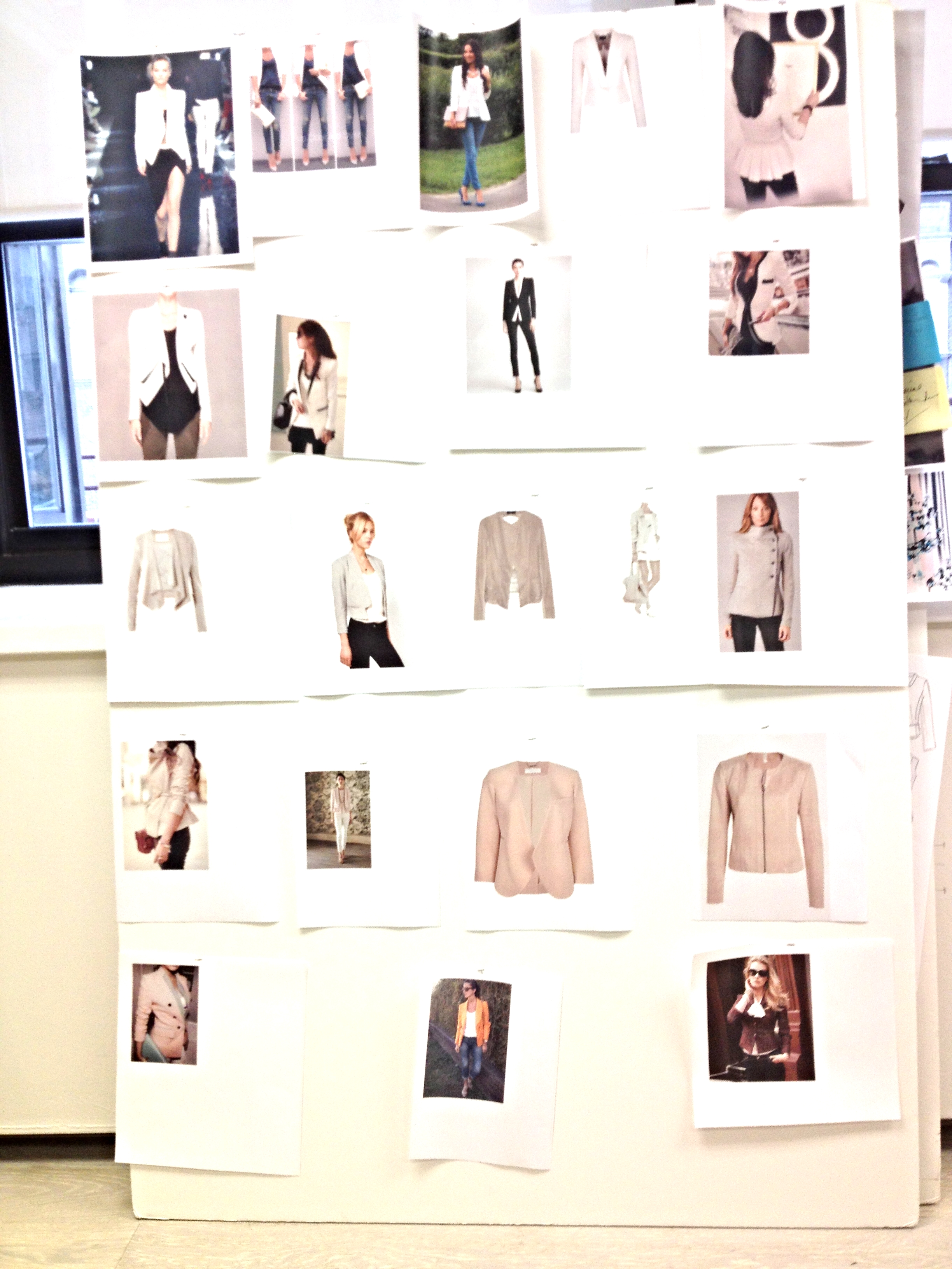 "Concept Board For ""Celebrity Clothing Line"""