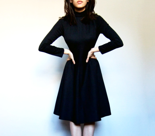 *Stock Photo of Fit & Flare Dress I Wore To LANVIN Interview