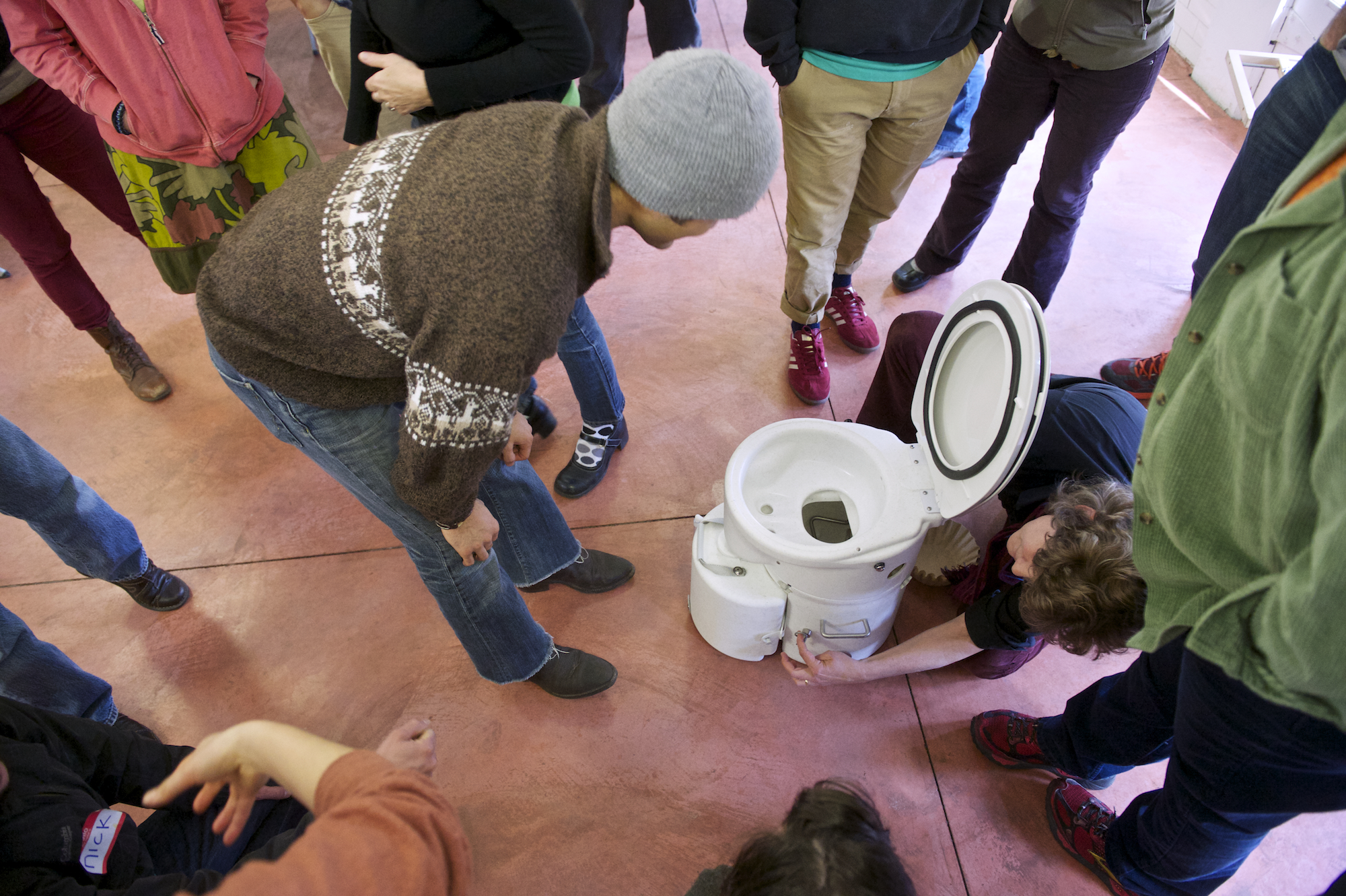 It's all about the poo at the PAD Workshop, everything you didn't realize you wanted to know!  -Photo by  Christopher Tack