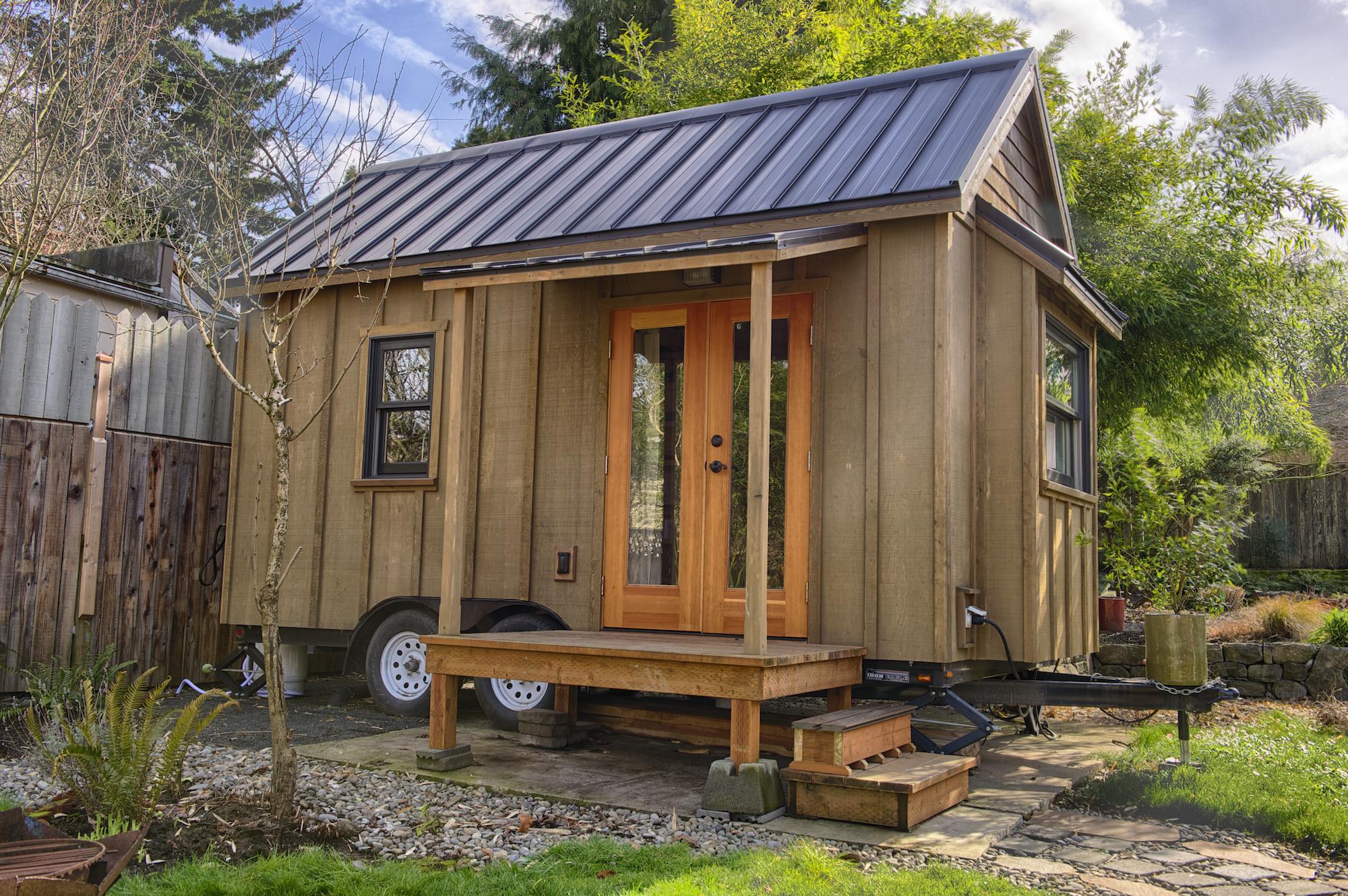 Gina's Tiny House at POD49   -Photo by Christopher Tack
