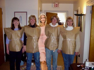 Brown paper packages tied up with string, #unwantedIvanka is a new favorite thing!! -
