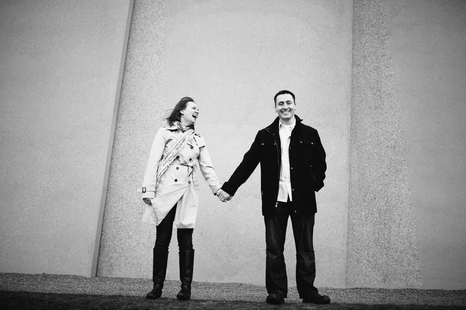 seattle engagement photography // SAM olympic sculpture park