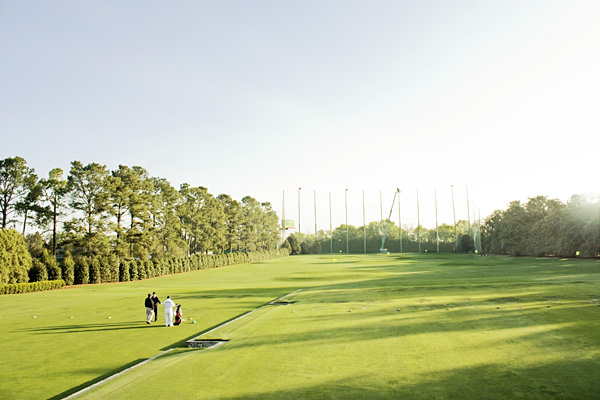 Augusta National driving range