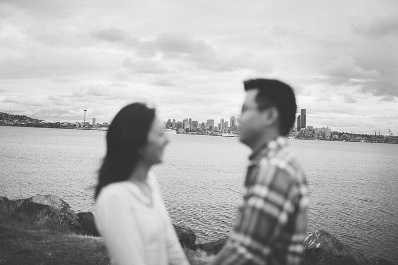 VSCO film engagement photography