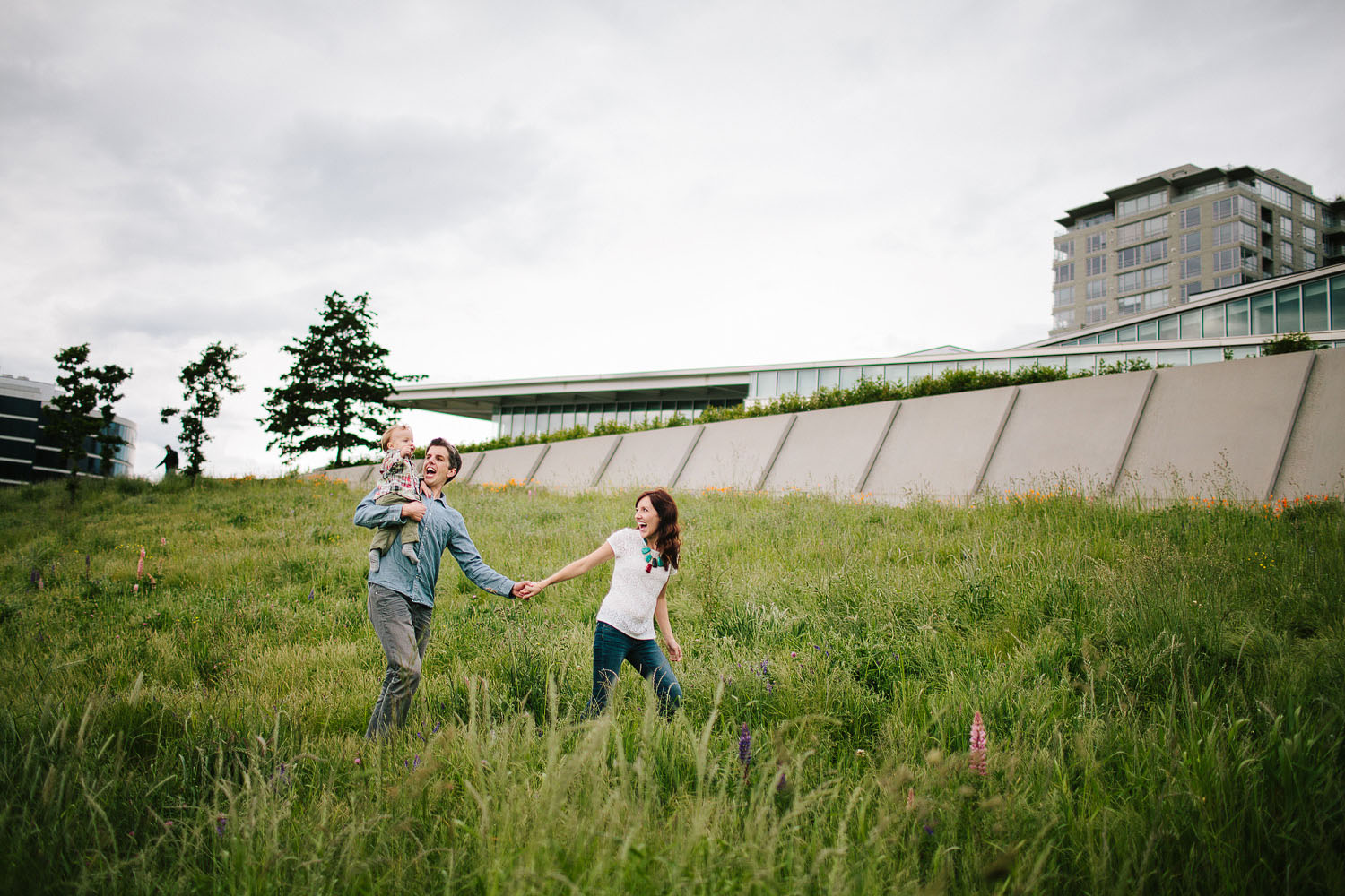 Seattle family photography - Olympic Sculpture Park