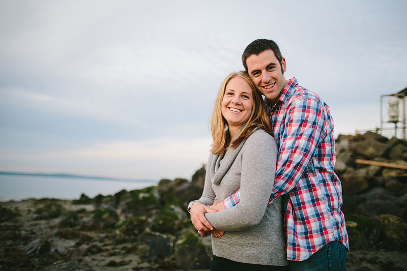 Seattle engagement photography at Discovery Park