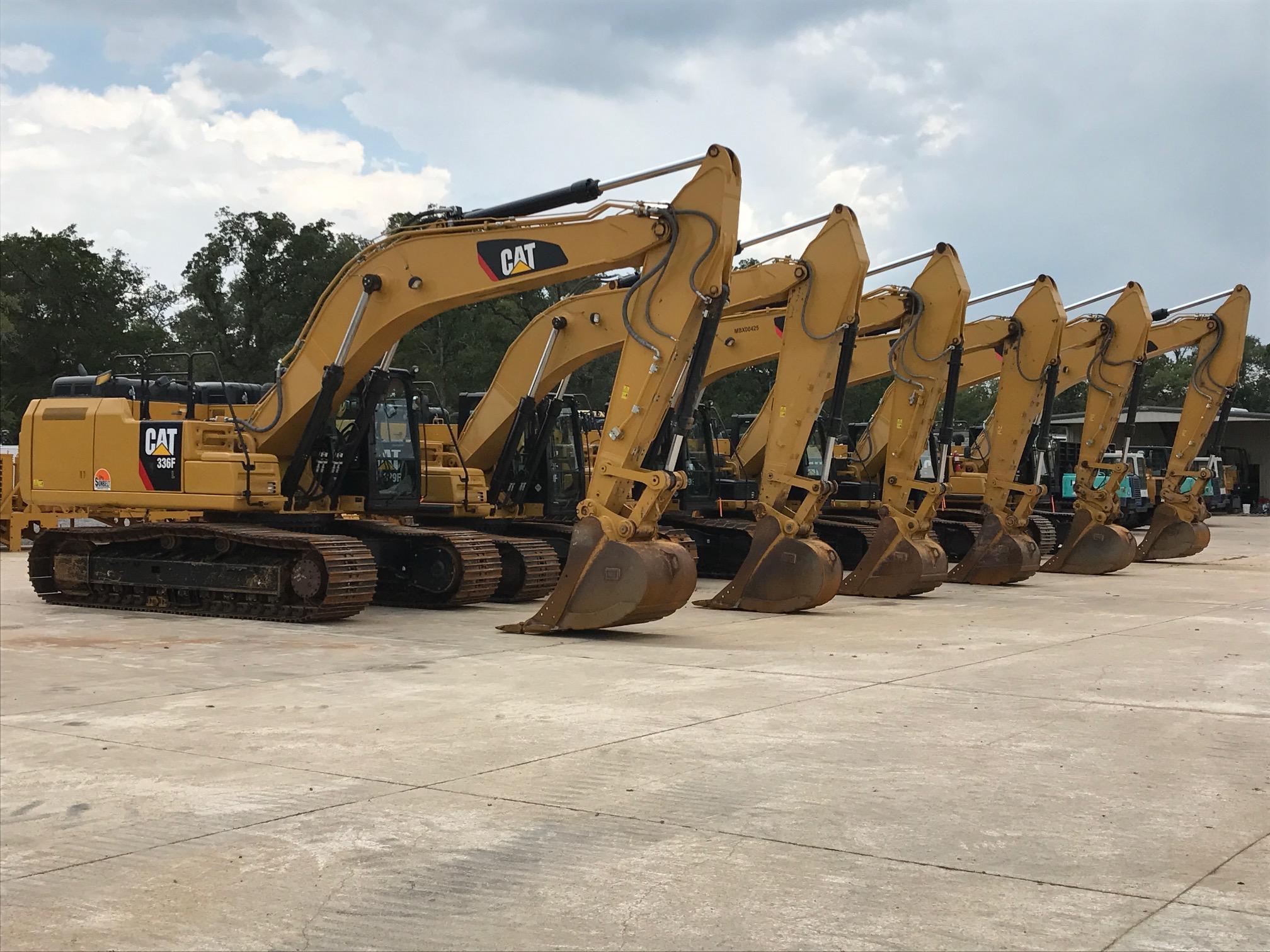 Caterpillar Excavators
