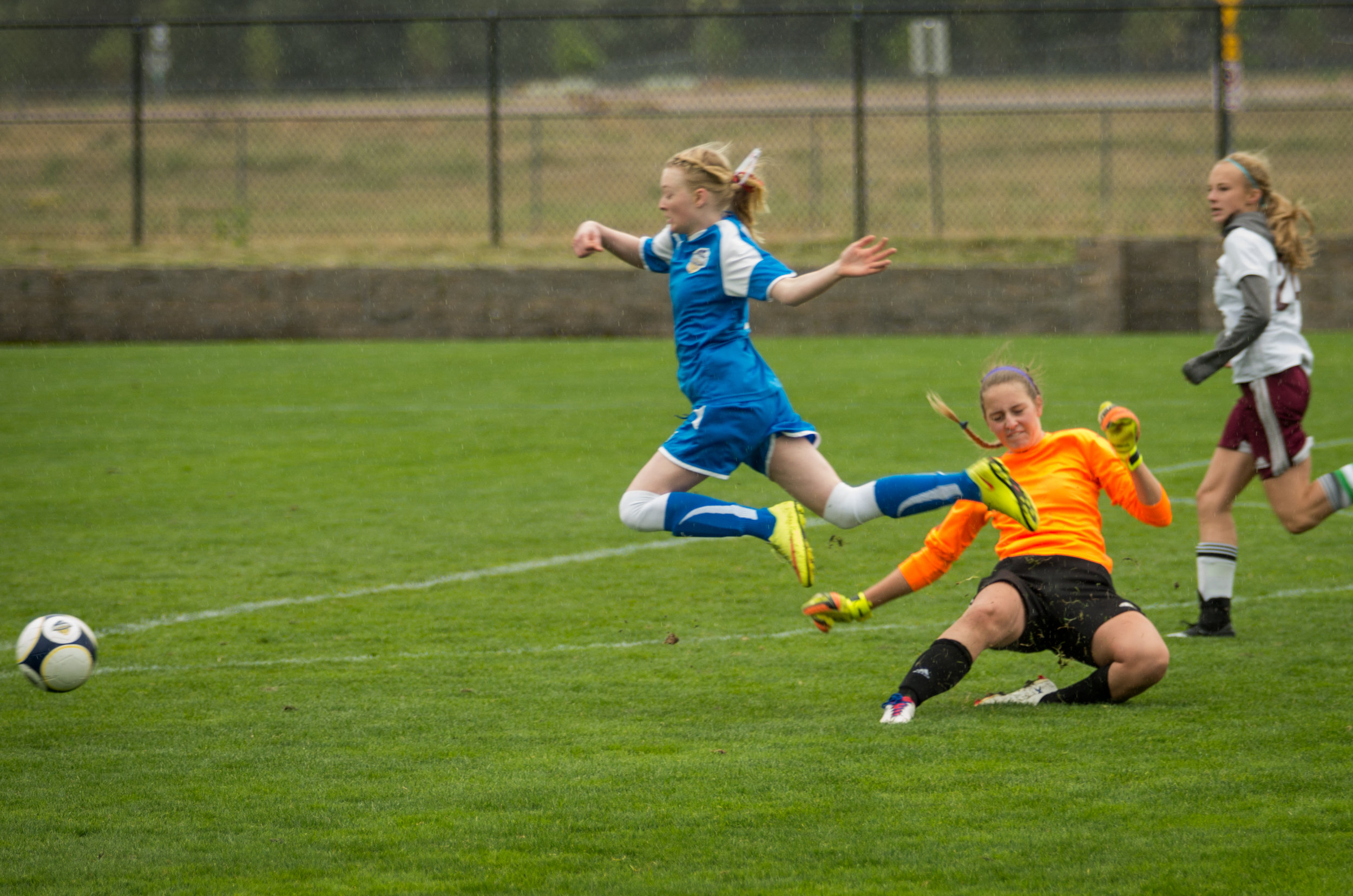 Pretty sure this is the first foul Olivia has committed in two seasons of play.