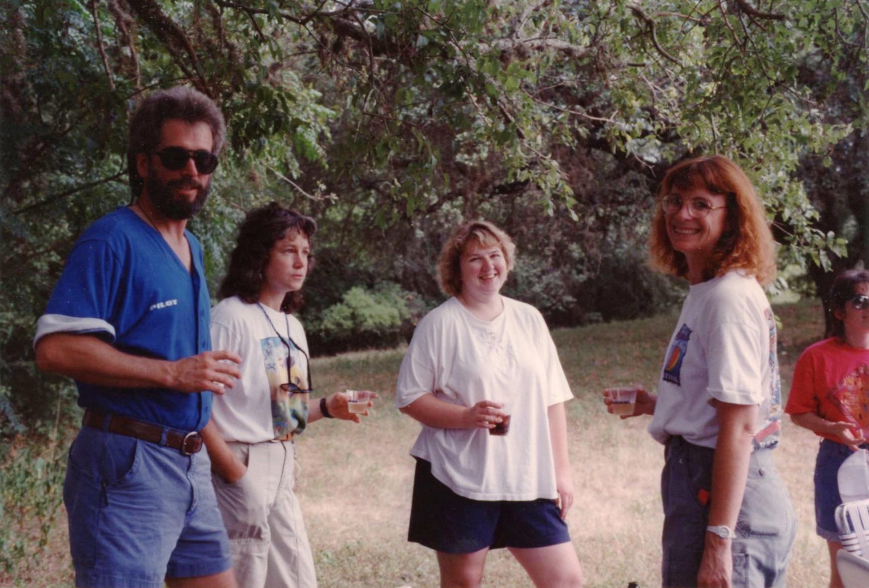 Fred, Kay, Ronda & Rusty