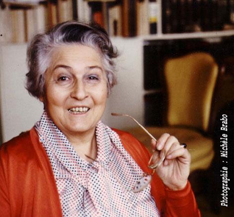 F. Dolto, probably France's most famous child psychoanalyst.
