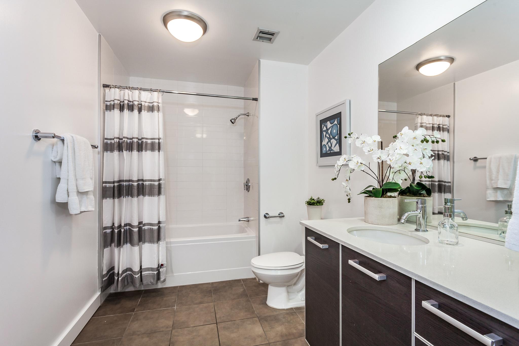 view of first bathroom from doorway