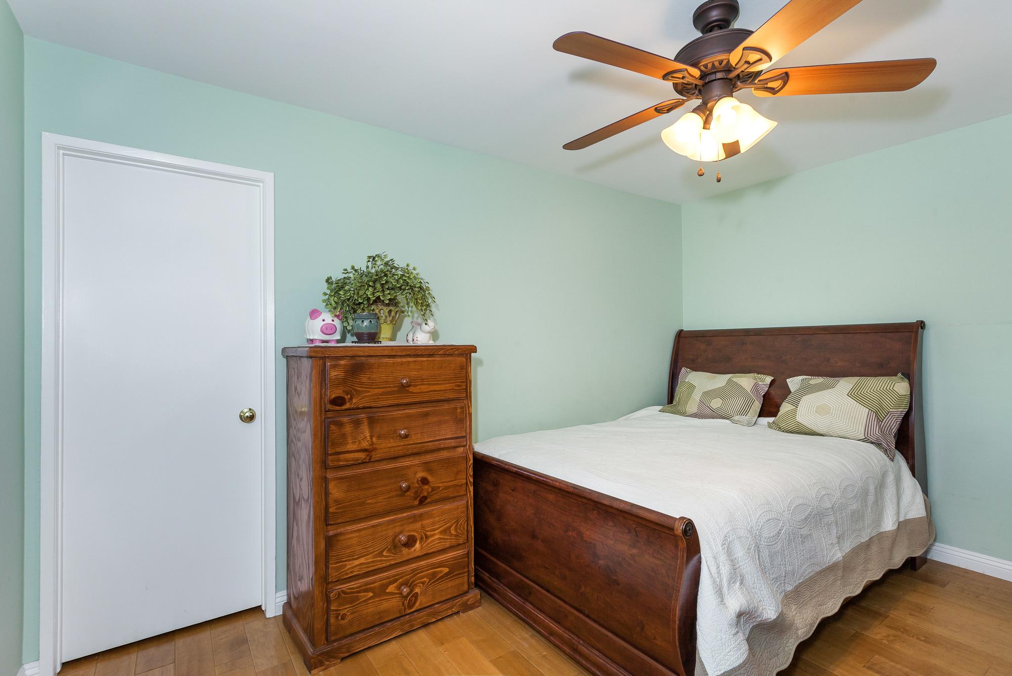 view of second bedroom