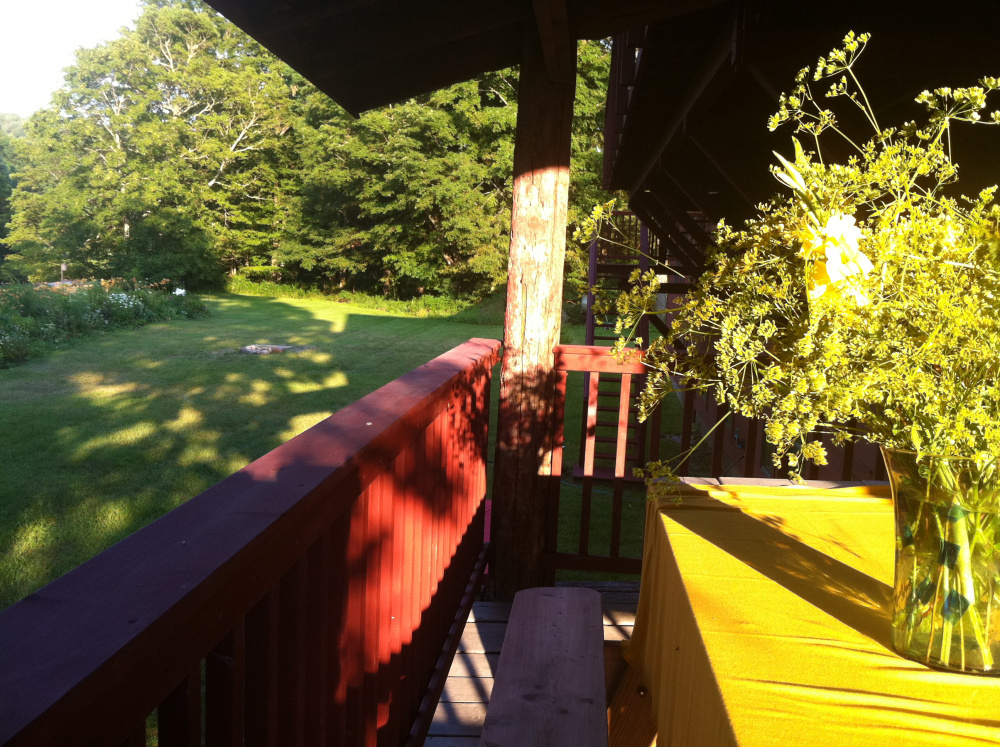 Project Art - The Back Porch in summer