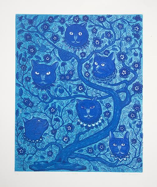 Cat Tree 2013  Edition of 15