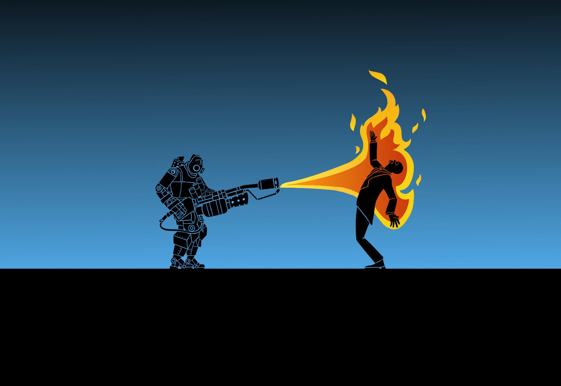 tf2__pyro_bot_x_spy___wallpaper___by_bielek-d6lr8qi.png