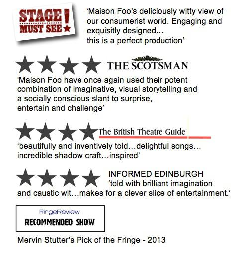 A snippet if those Edinburgh reviews