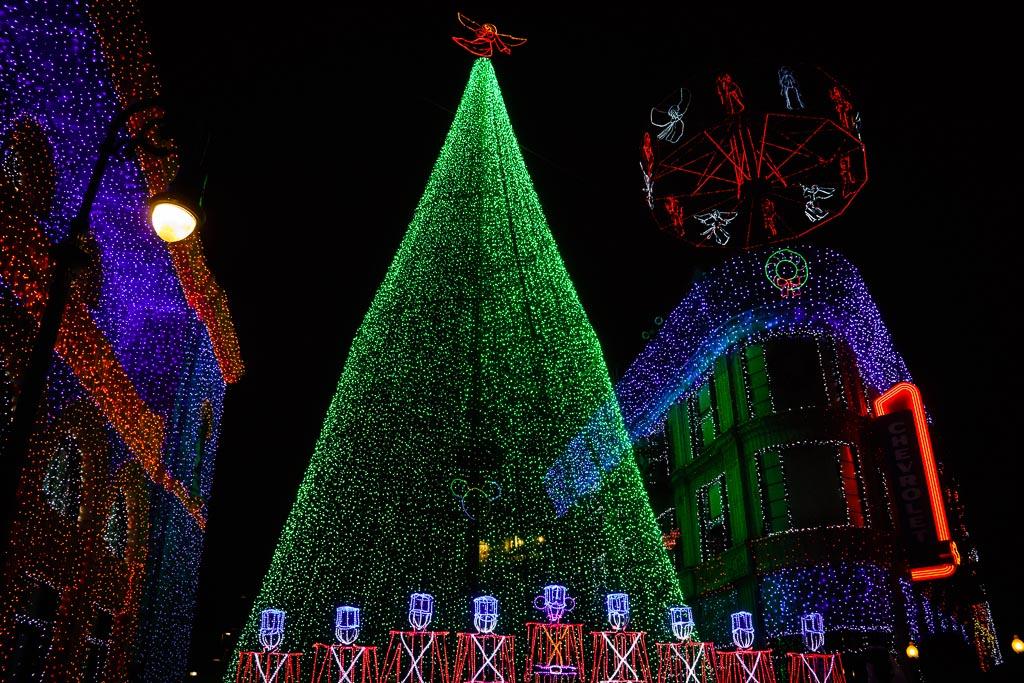 Osborne Family Festival of Lights, Hollywood Studios, Walt Disney World, Lake Buena Vista, Florida