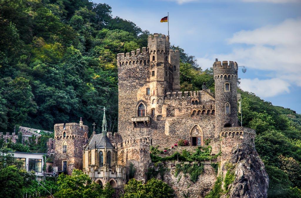 Rheinstein Castle, Assmannshausen, Germany
