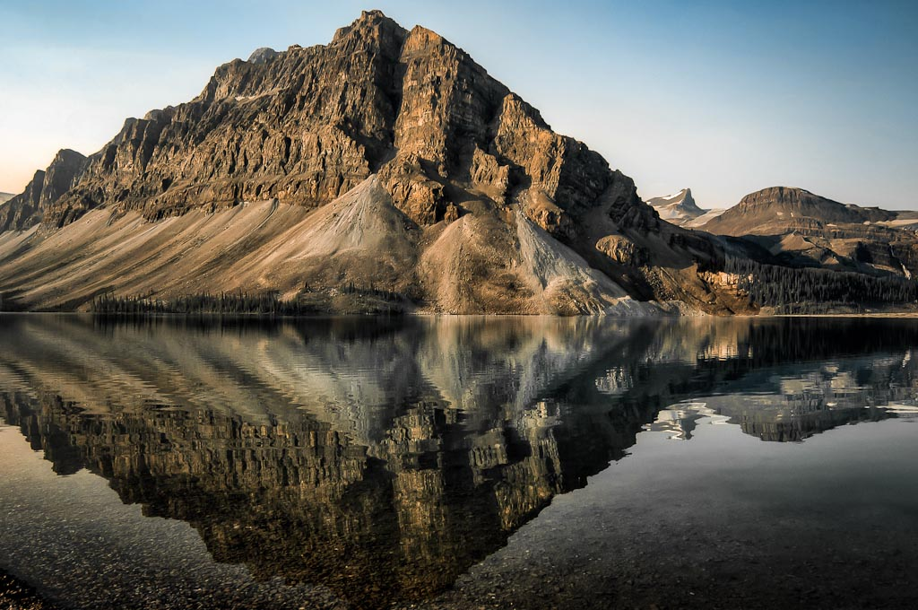 Bow   Lake, Icefield Parkway, Banff National Park, Alberta