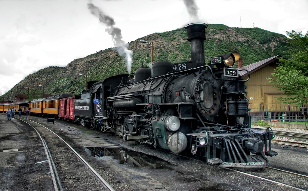 Durango   & Silverton Railroad, Durango, Colorado