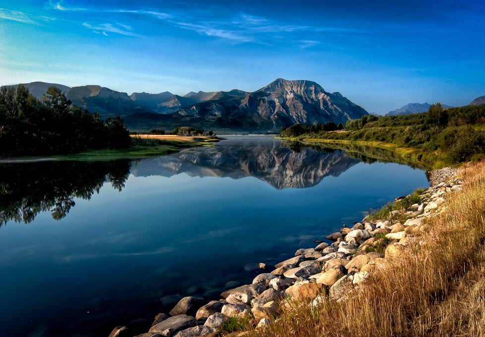 Lower   Waterton Lake, Waterton Lakes National Park, Alberta, Canada