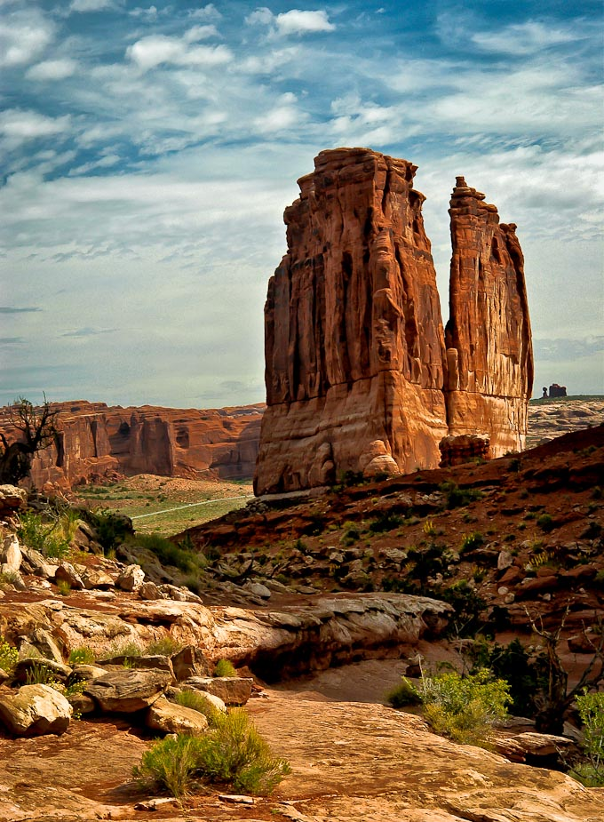 Park   Avenue Trail, Arches National Park, Utah