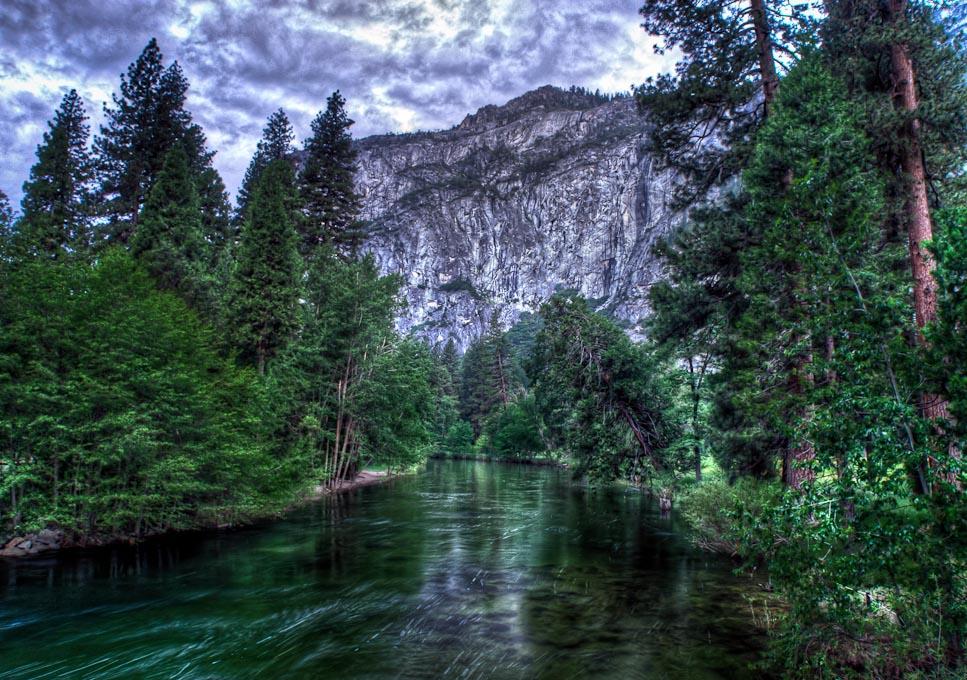 Mered   River, Yosemite National Park,California