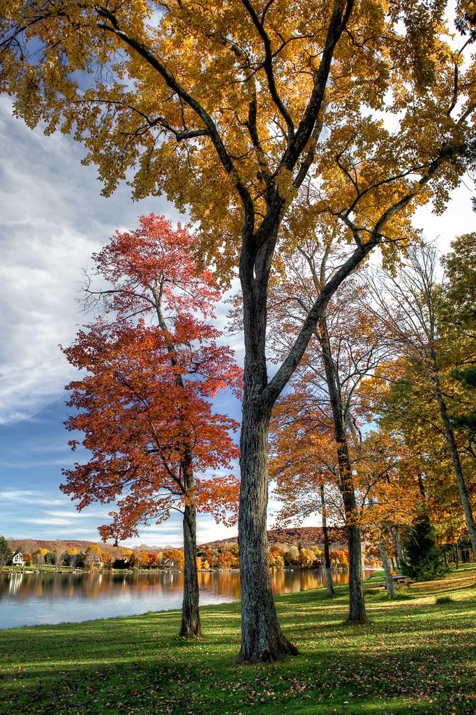 Lake   Waramaug State Park, Kent, Connecticut