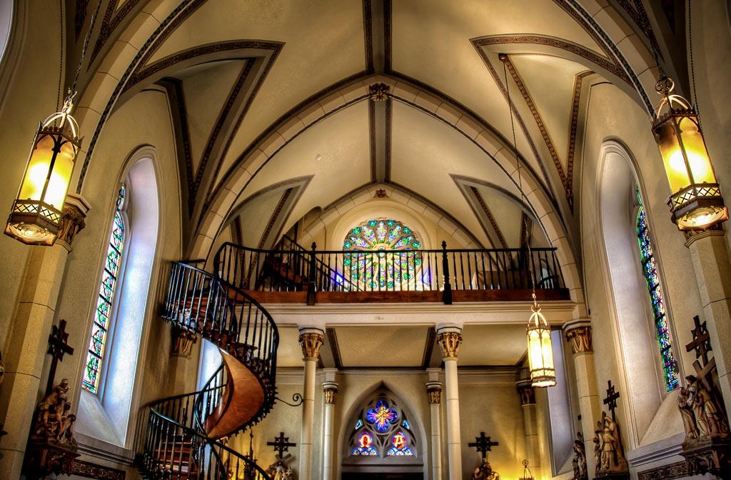 Loretto   Chapel, Santa Fe, New Mexico